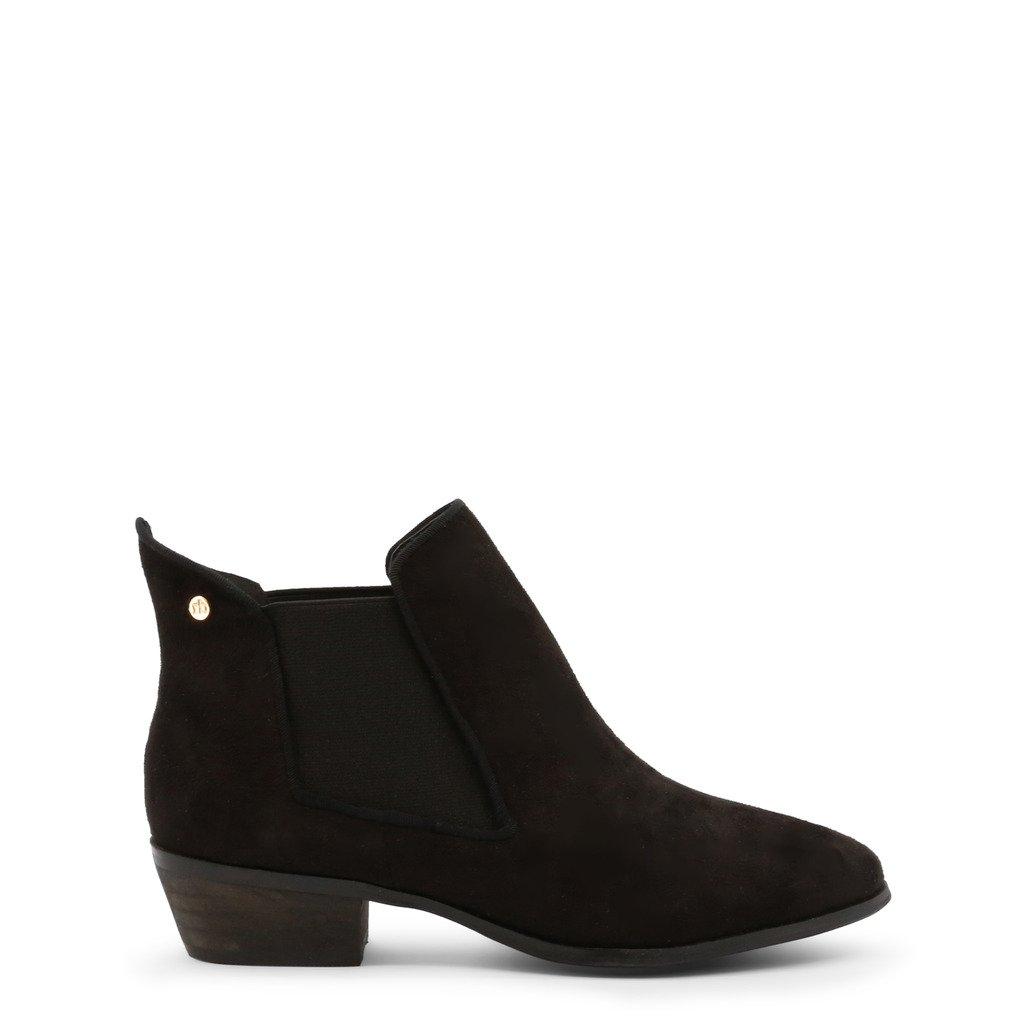 Roccobarocco Women's Ankle Boot Black RBSC1JJ02STD - black EU 37