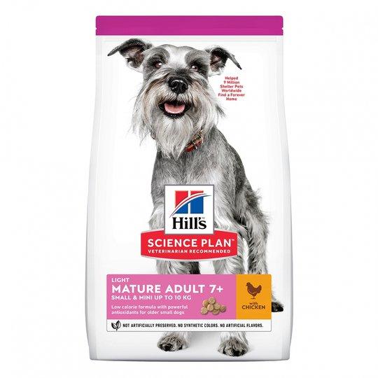Hill's Science Plan Dog Mature Adult 7+ Light Small & Mini Chicken (2,5 kg)