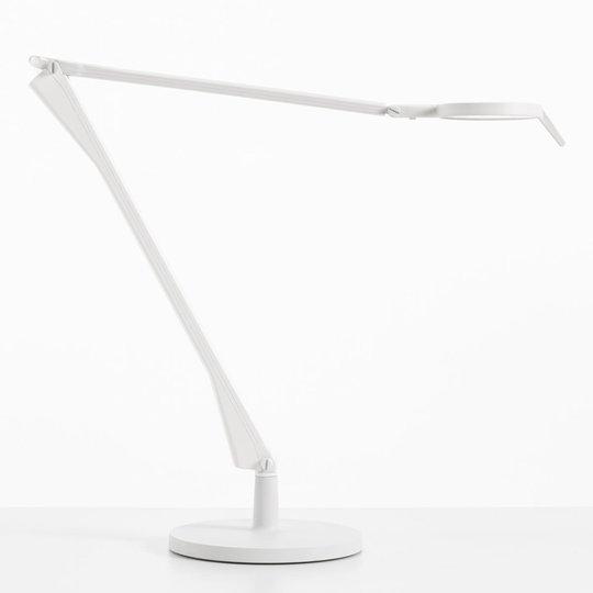 Kartell Aledin Tec -LED-pöytävalaisin, valkoinen