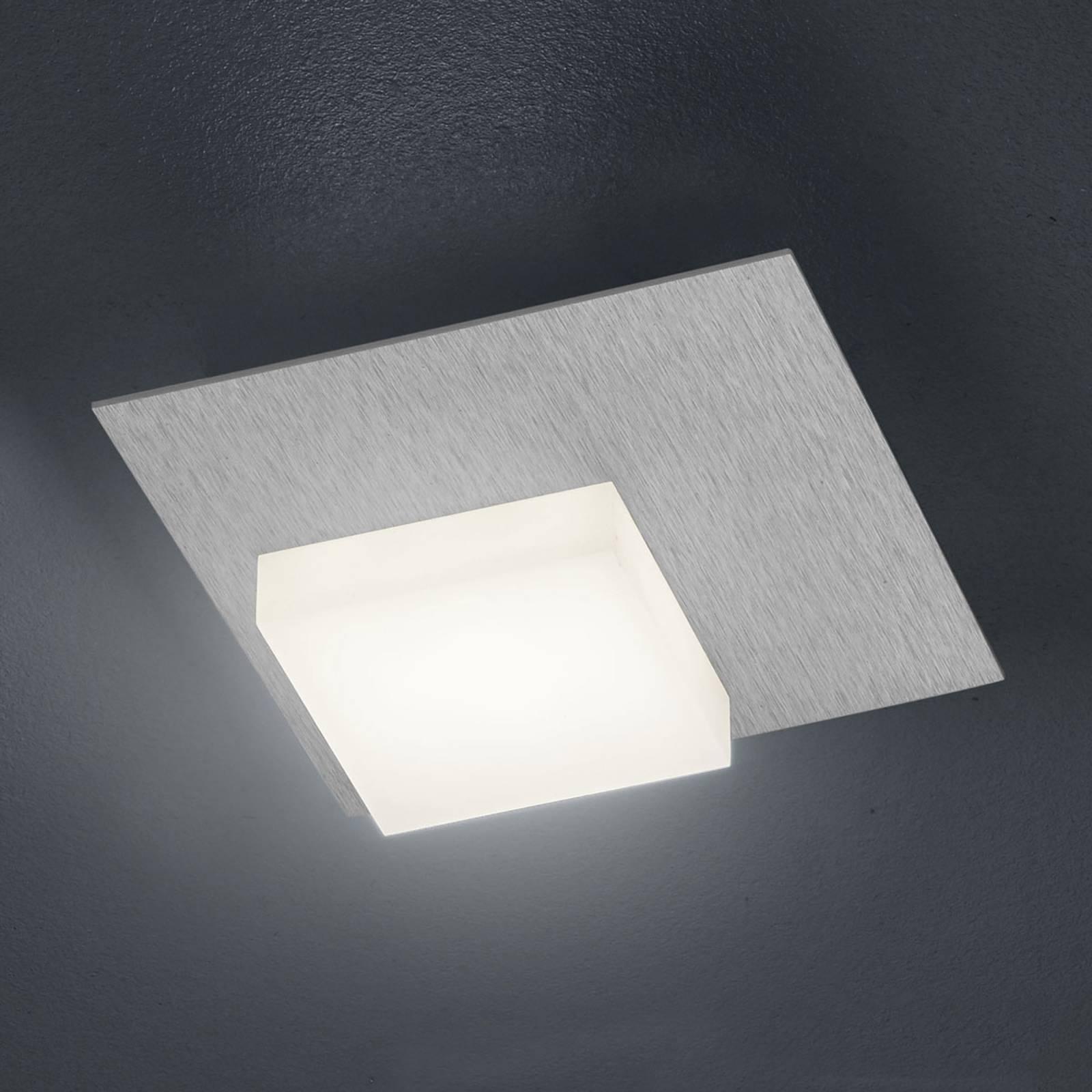 BANKAMP Cube LED-kattovalaisin 8W, hopea