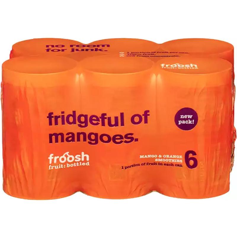 Smoothie Mango & Appelsiini 6 x 150ml - 29% alennus