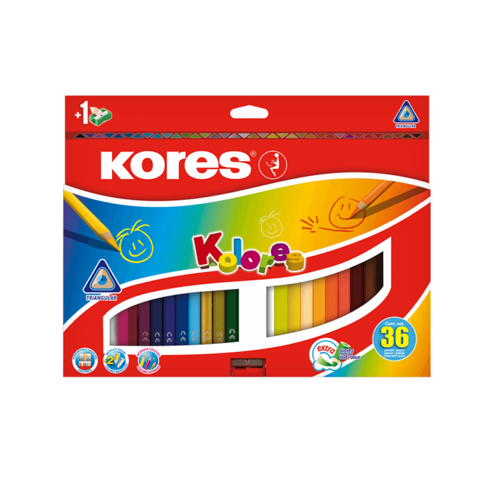 Kores - Kolores - 36 Coloured Pencils (93336)