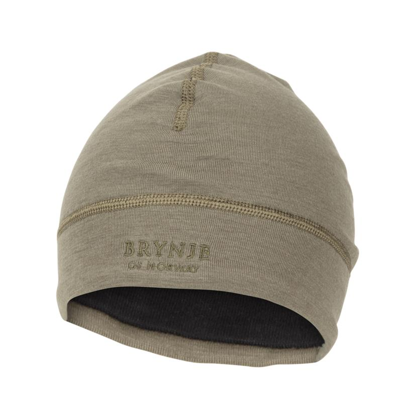 Brynje Arctic Tactical Light Hat S Olive Green