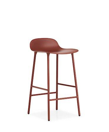 Form Barstol Rød 65 cm