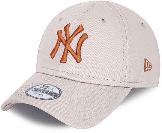 New Era NYY League Essential 9Forty Caps, Stone, 0-2 Jahre