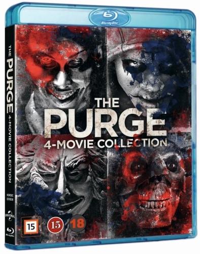 Purge, The 1-4 Box Blu ray