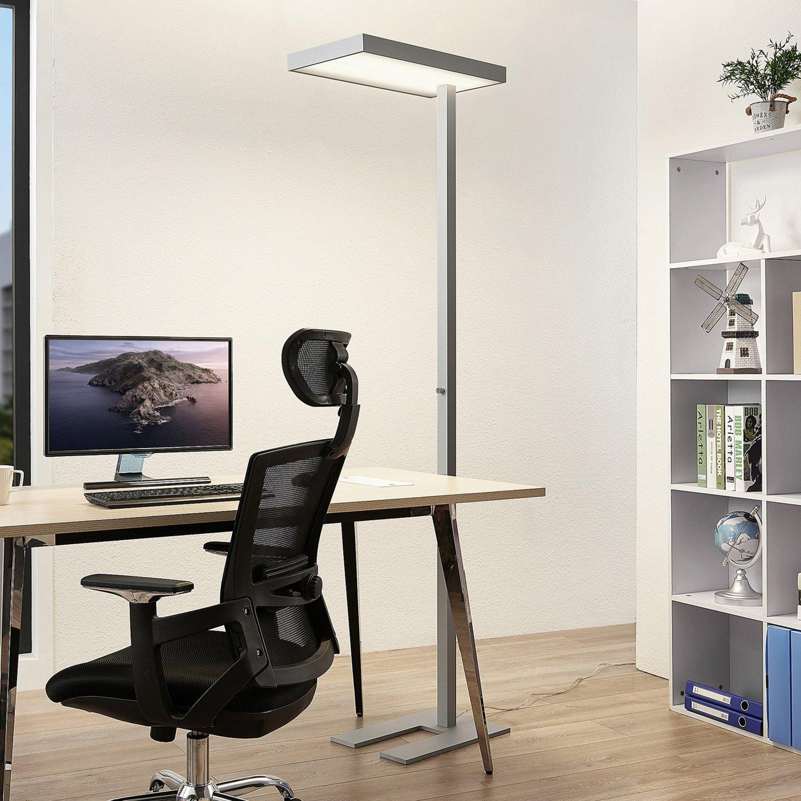 Arcchio Nora LED-gulvlampe til kontor, bevegelses.