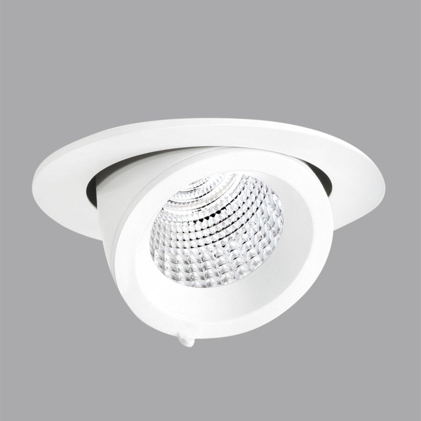 EB431 LED-downlight flood reflektor hvit varmhvit