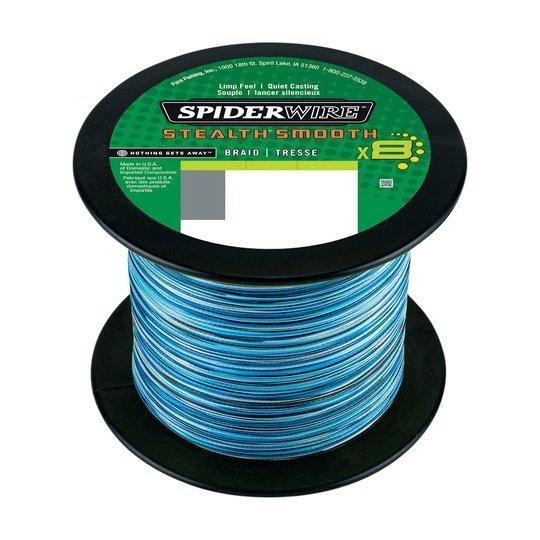 Spiderwire Smooth 8 Blue Camo 2000 m