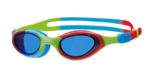 Zoggs Svømmebriller S. Seal, Rød/Blå/Grønn