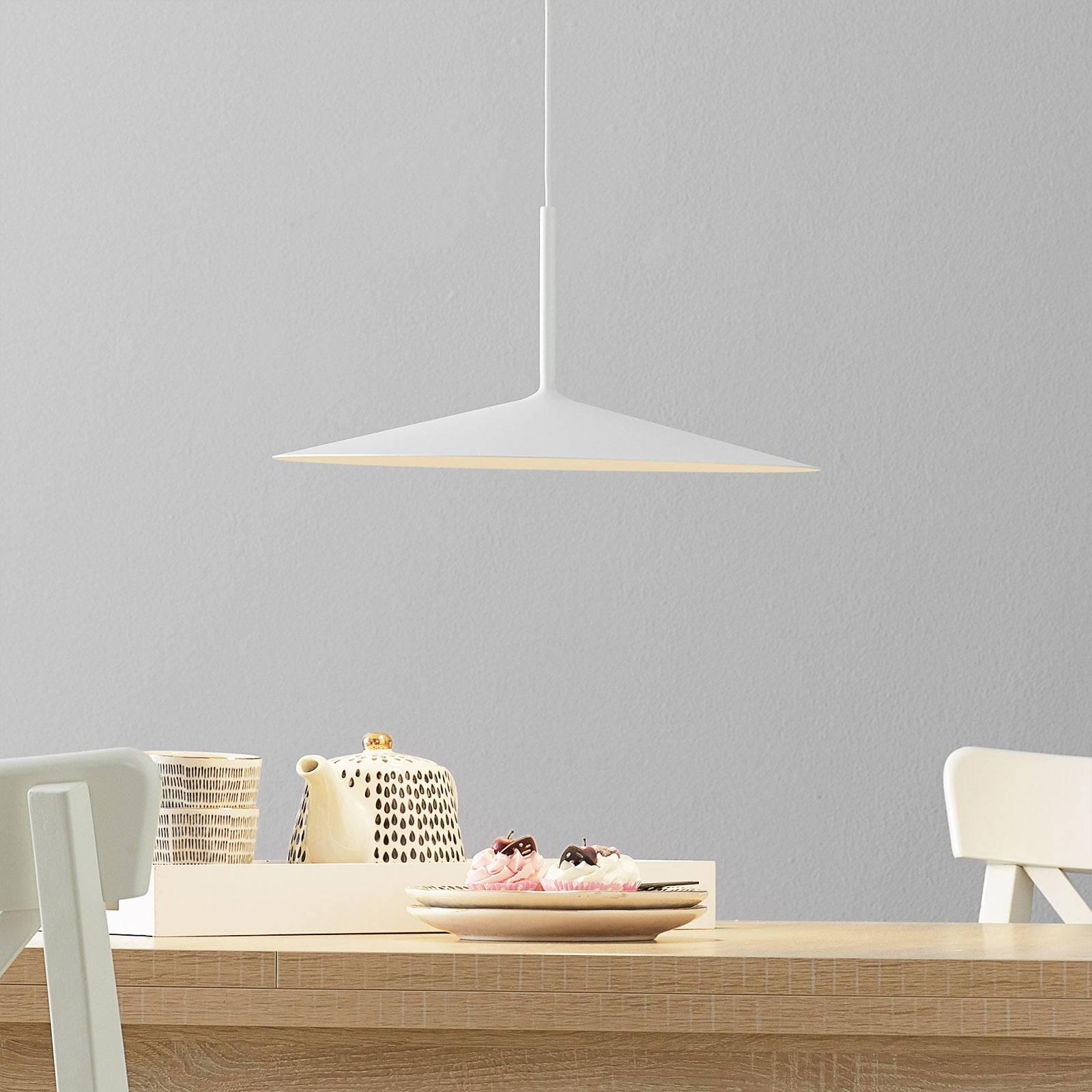 LED-riippuvalaisin Poe Plus, valkoinen