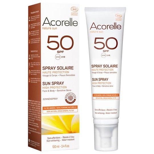 Acorelle Solskyddsspray SPF 50, 100 ml