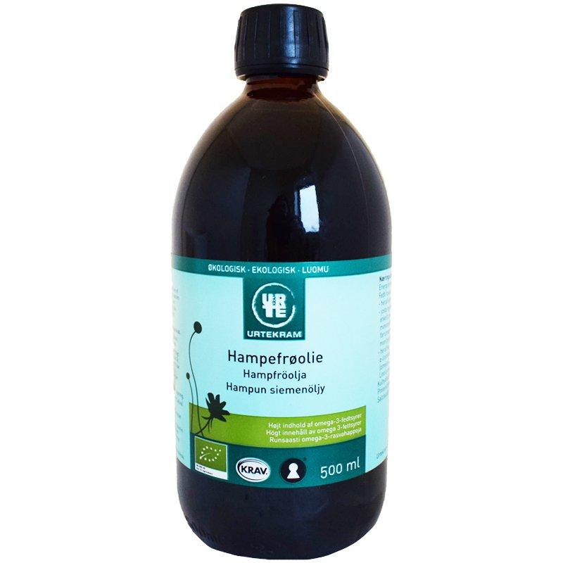 Luomu Hampunsiemenöljy 500ml - 17% alennus