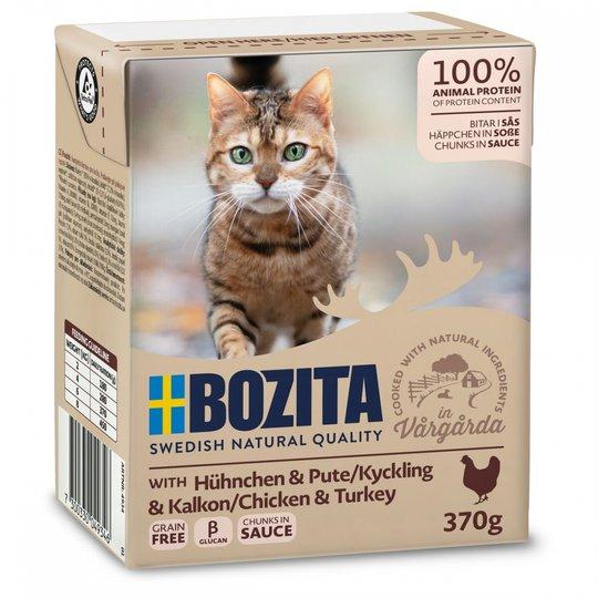 Bozita Bitar i sås Kyckling & Kalkon 370 g