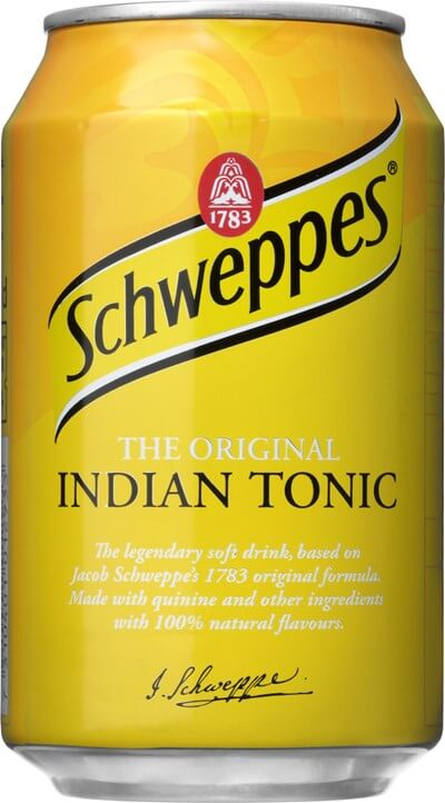 Schweppes Indian tonic 33cl