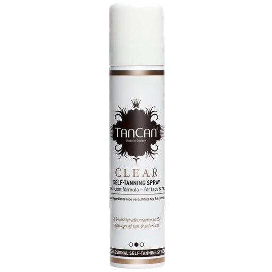 Clear Self-Tanning Spray, 100 ml TanCan Itseruskettavat