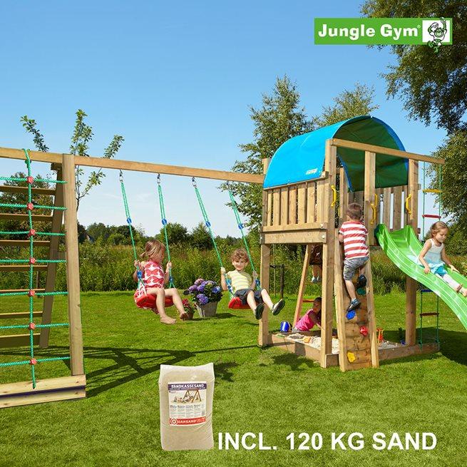Jungle Gym Villa lektorn komplett inkl. Climb, Klätterställning