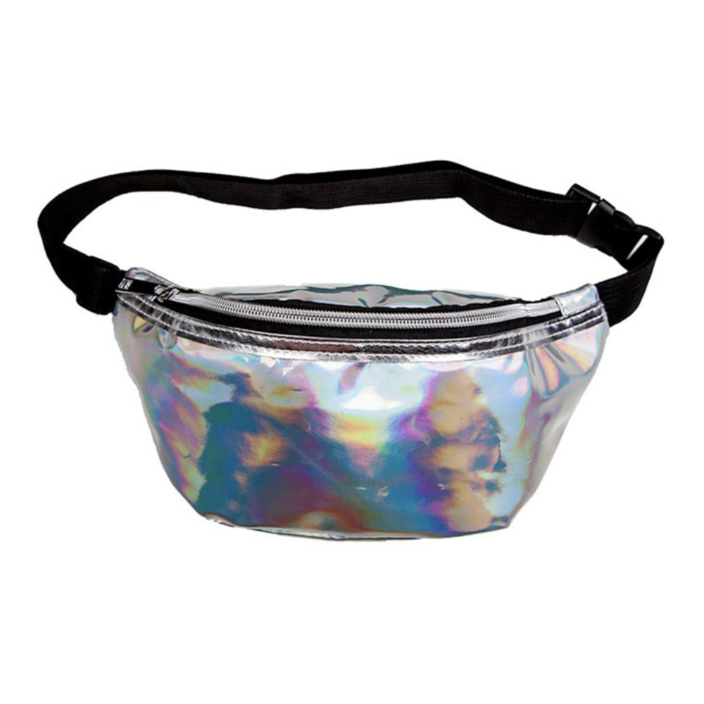 Midjeväska Silver Holografisk - One size