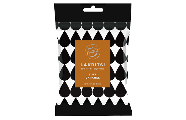 Fazer Soft Caramel Lakritsi 150g