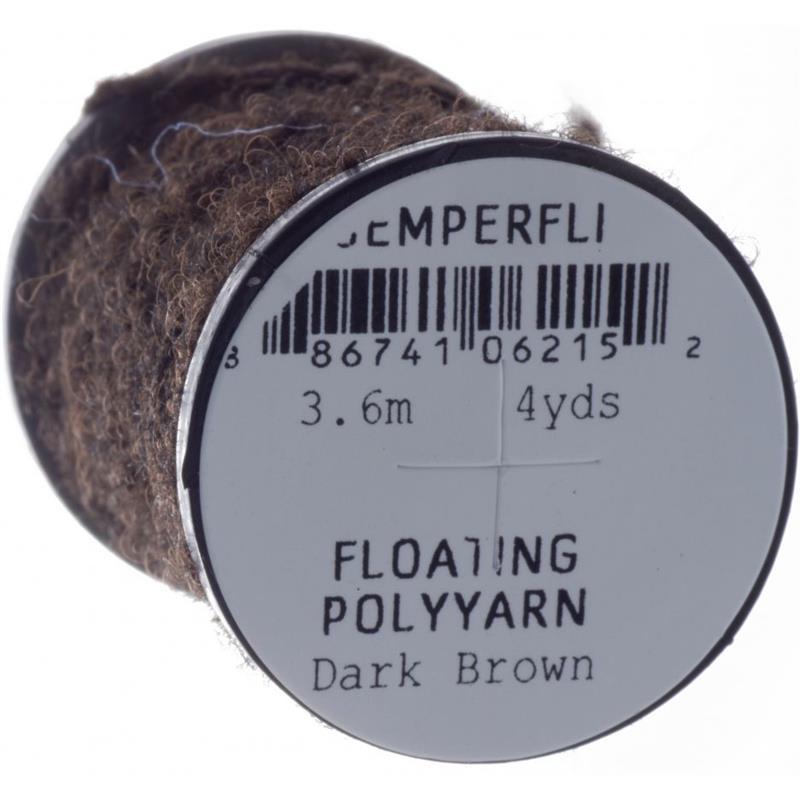 Semperfli Dry Fly Polyyarn Dark Brown