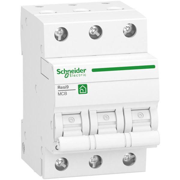 Schneider Electric R9F28310 Miniatyrbryter 3-polet, 440 V 10 A