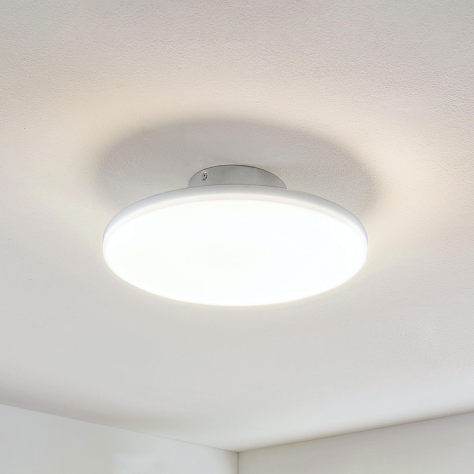 LED-kattovalaisin Sherko, pyöreä, 1-lamppuinen