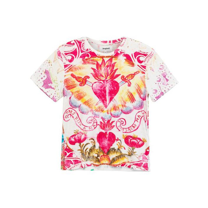 Desigual Women's T-Shirt Multicolor 204898 - multicolor M
