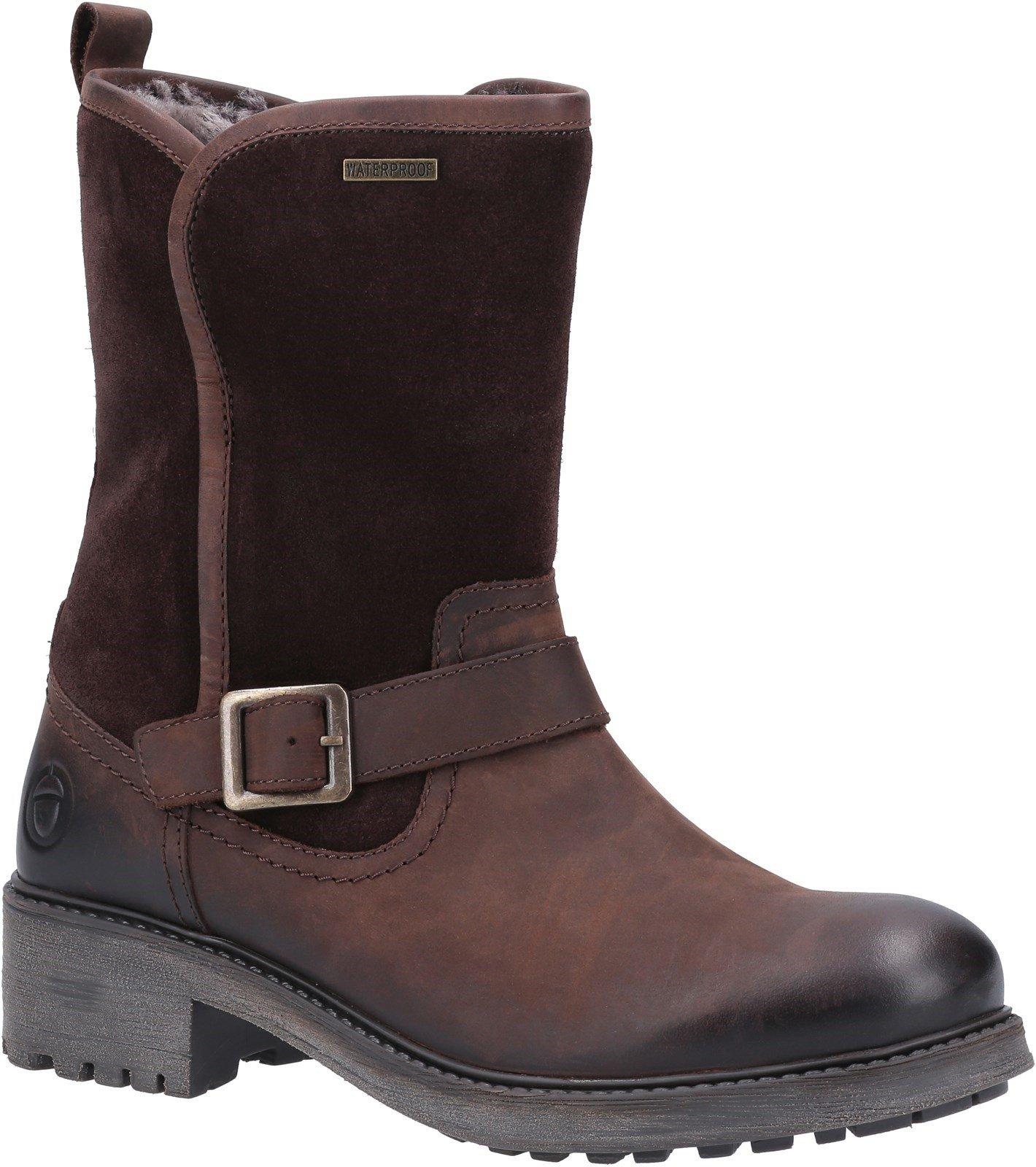 Cotswold Women's Randwick Calf-Length Boots Various Colours 30994 - Brown 6
