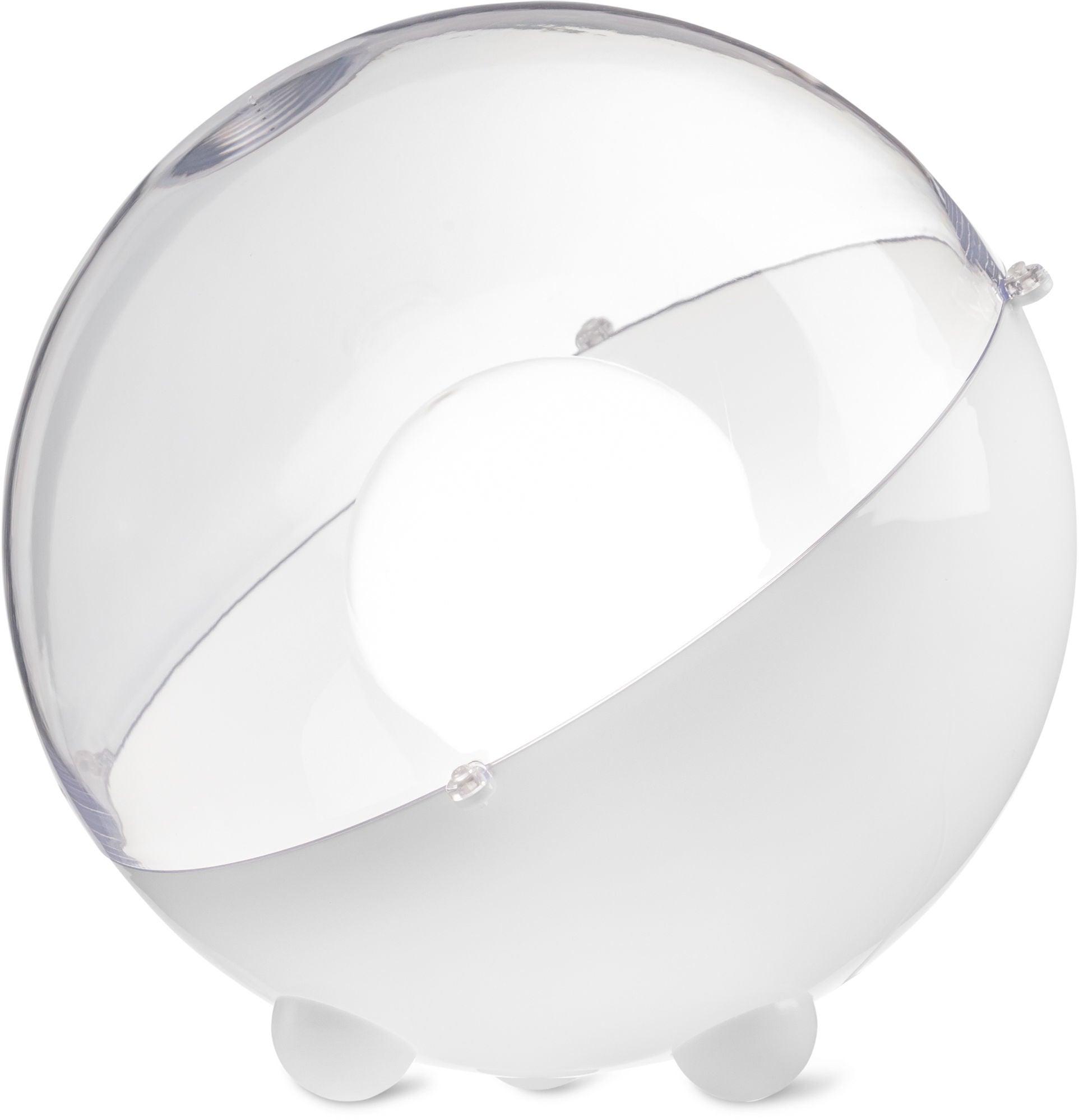 Koziol Lattiavalaisin Orion Transparent, Valkoinen