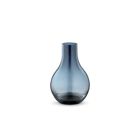 Cafu Vase 14,8cm Blå Glass