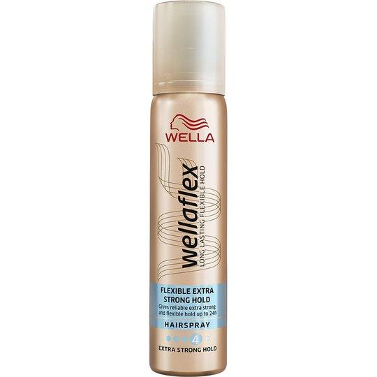 WellaFlex Hairspray Extra Strong, 75 ml Wella Styling Muotoilutuotteet