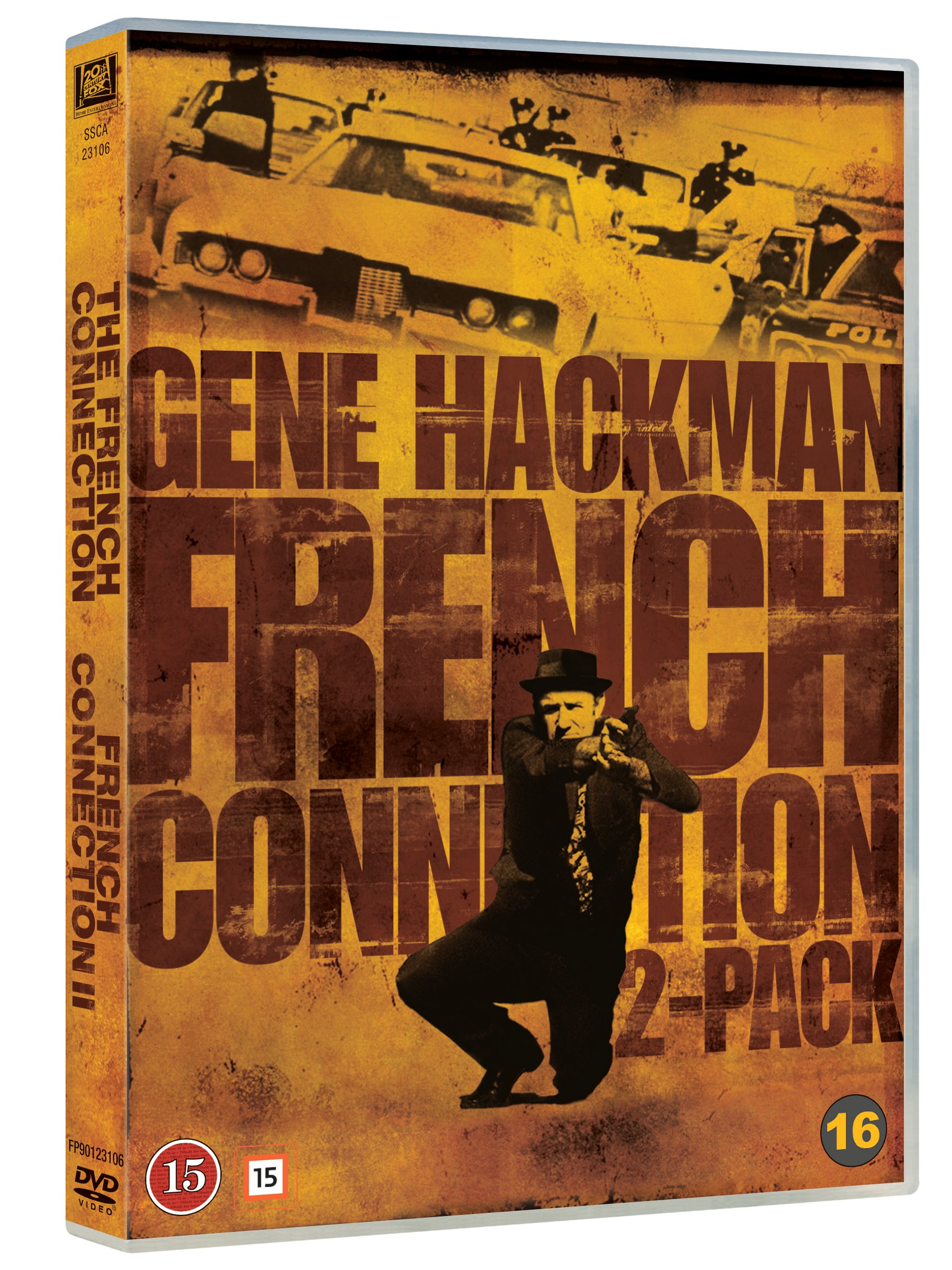 French Connection 1 and 2 Boxset - DVD