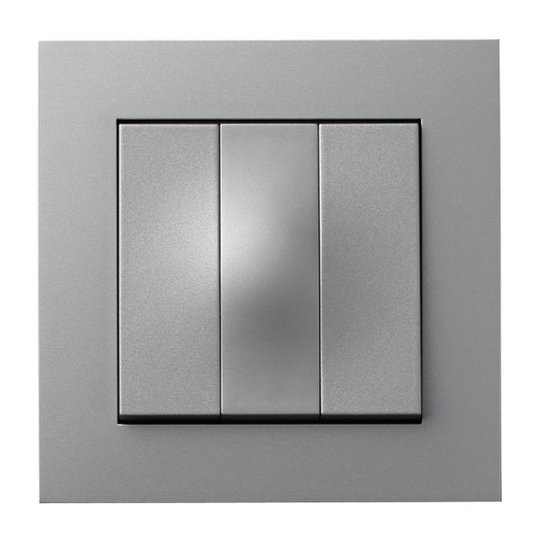 Elko Plus Vaihtokytkin pikaliitin, alumiini 3x1-napainen