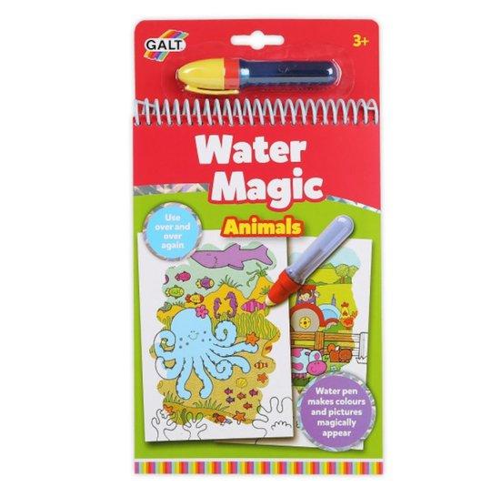 Galt Malebok Water Magic Dyr