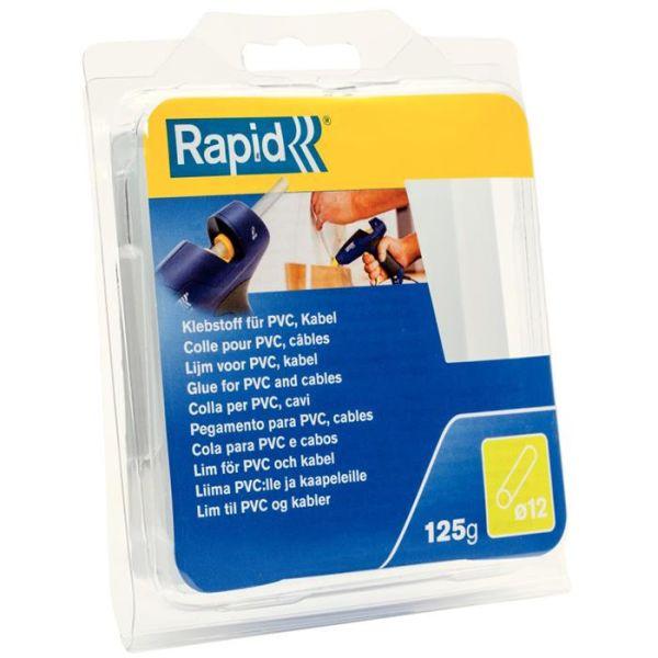 Rapid 40107358 Limstav PVC/kabel, 125 g, Ø12x94 mm