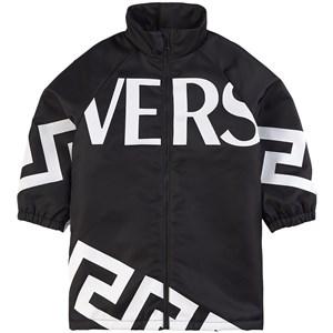 Versace Logo Regnjacka Svart 6 år