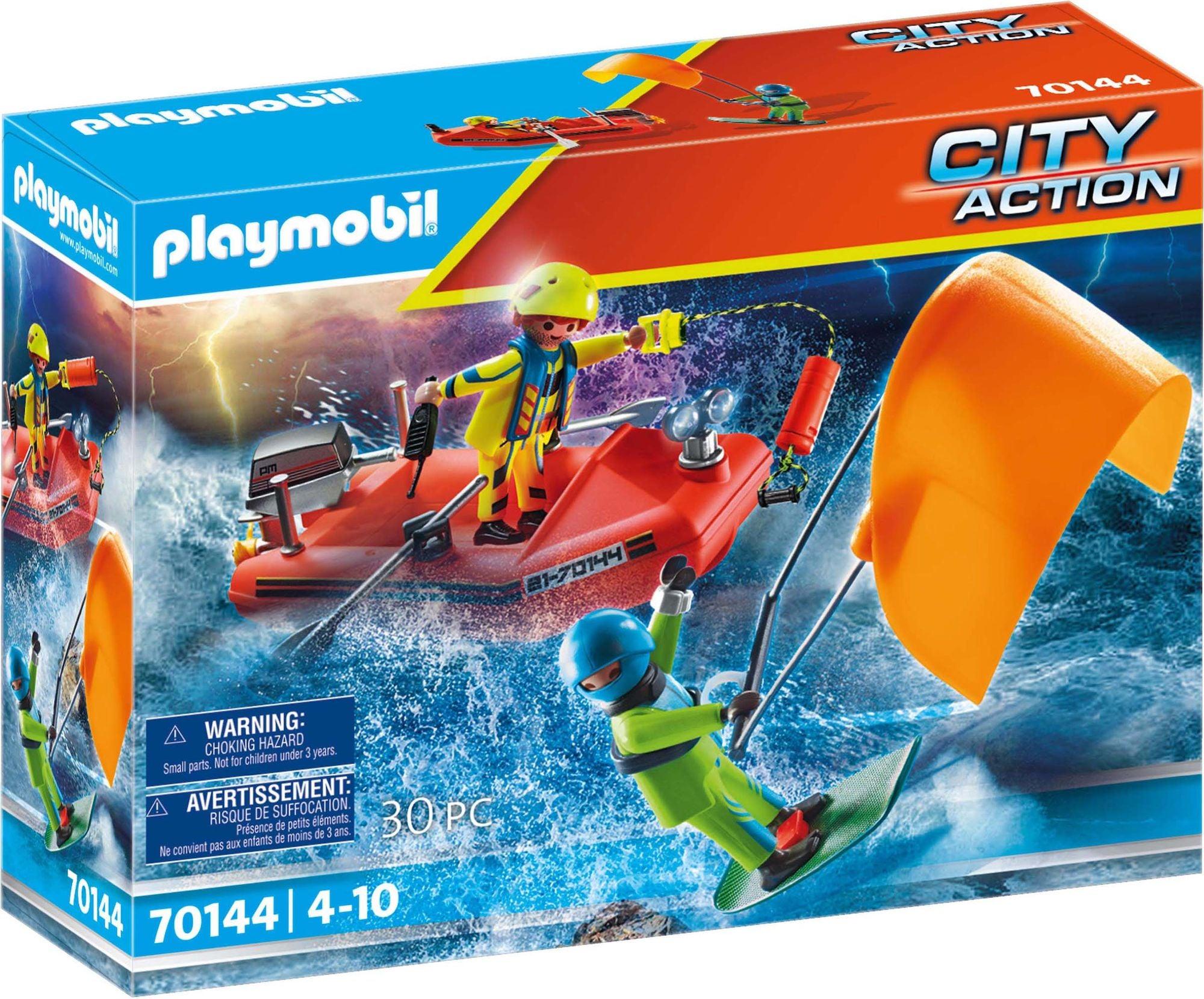 Playmobil 70144 Kitesurfer Bergingsinnsats