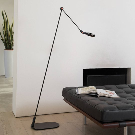 Martinelli Luce L'Amica LED-gulvlampe svart