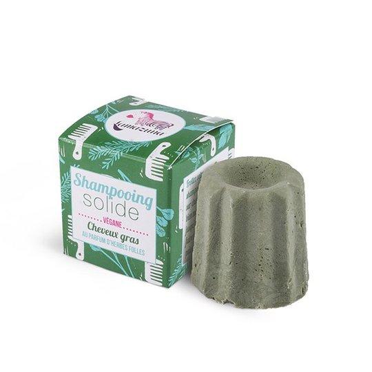 Lamazuna Schampokaka för fett hår - Wild Herbs, 55 g