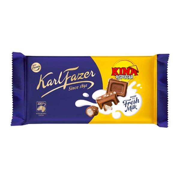 Fazer Kina Rispuffar Chokladkaka - 125 gram