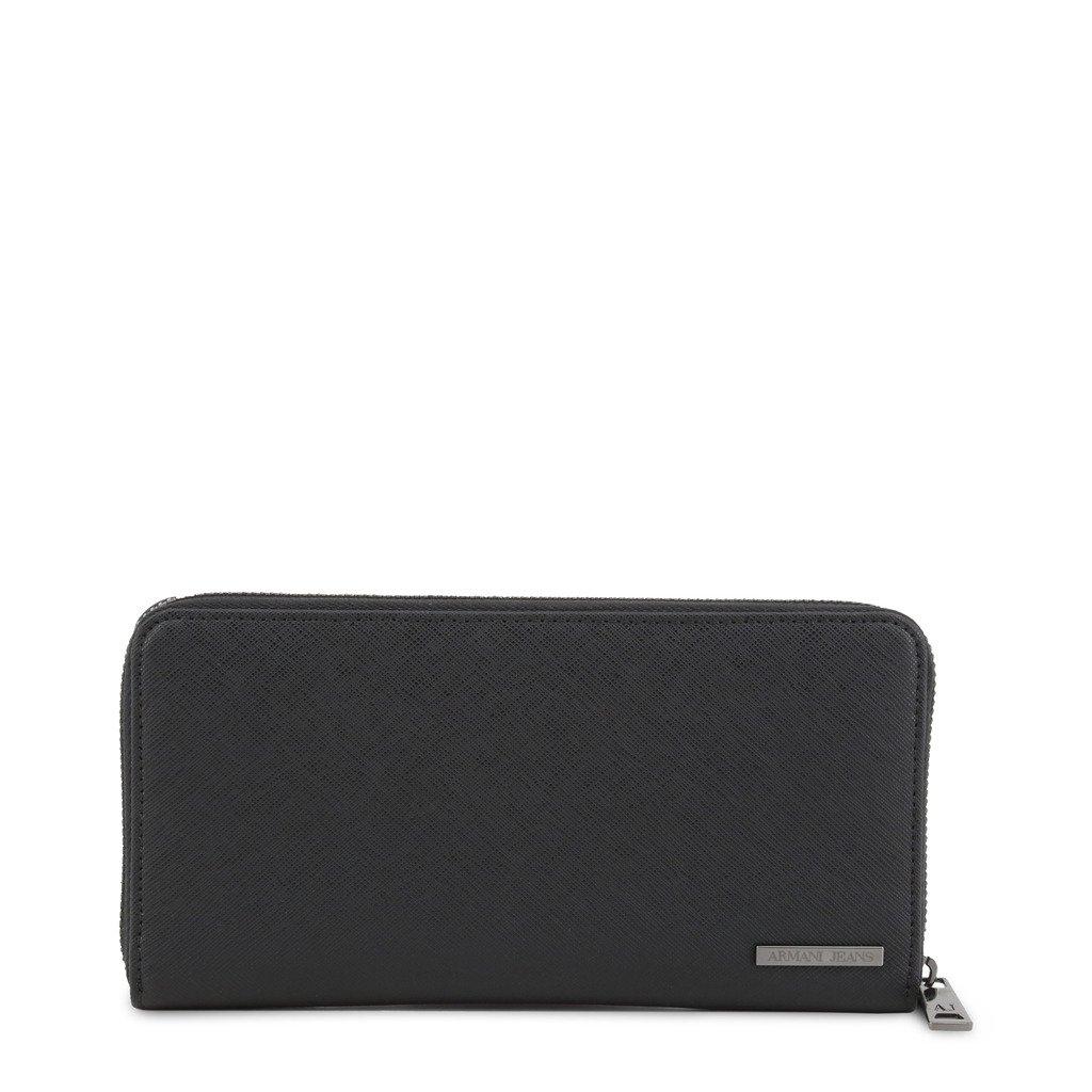 Armani Jeans Unisex Wallet Black 285857 - black NOSIZE