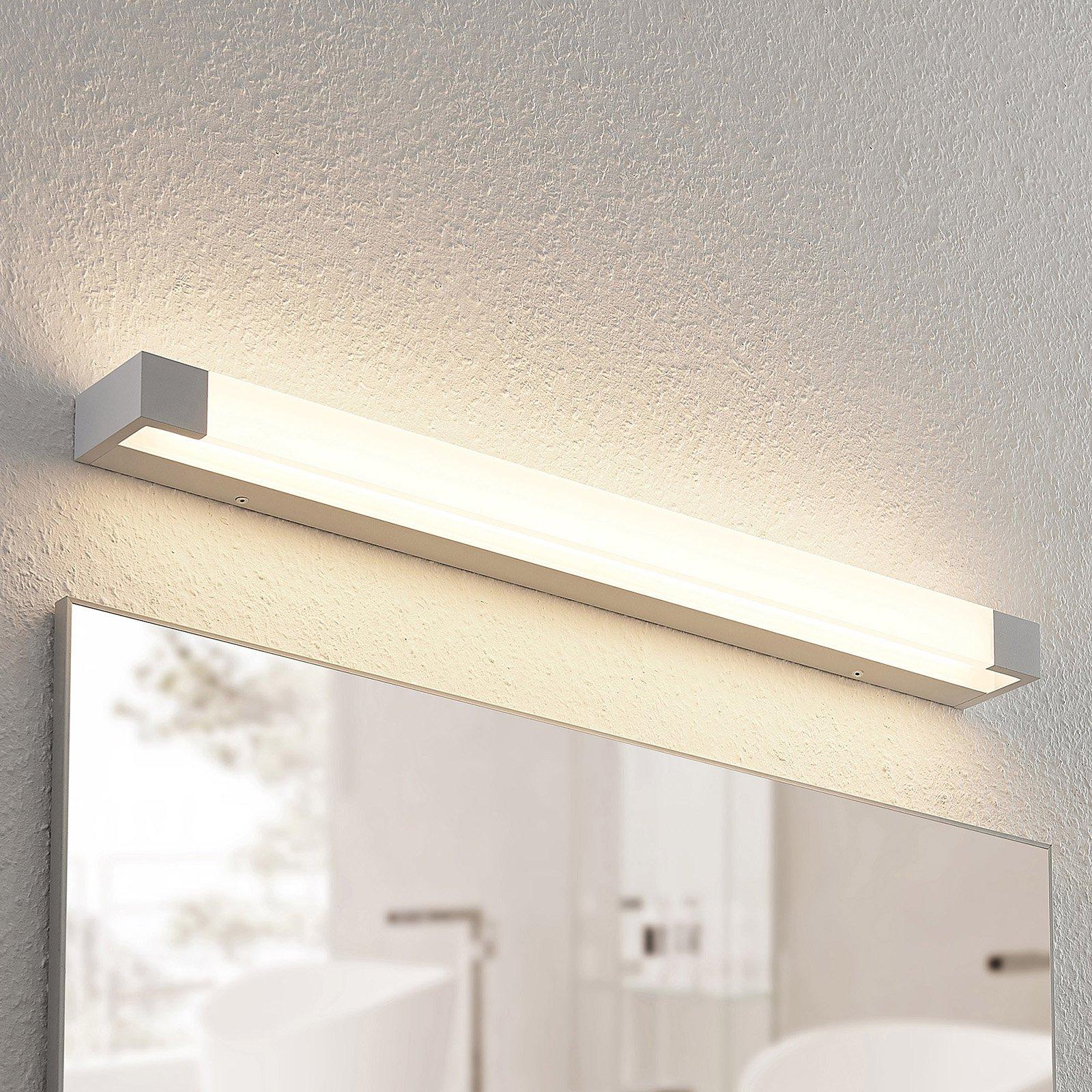 Arcchio Ronika LED-vegglampe, IP44, hvit, 72 cm
