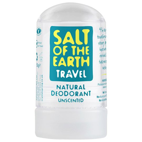Salt of the Earth Crystal Travel Deodorant, 50 g