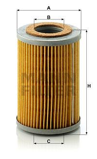 Öljynsuodatin MANN-FILTER H 816 x