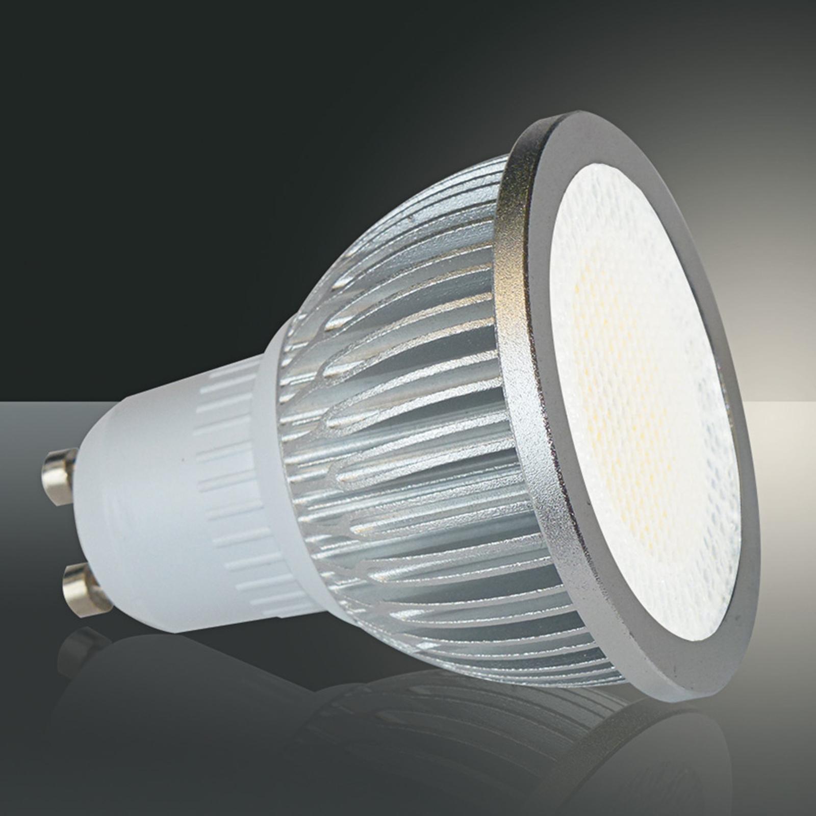 GU10 5 W 829 voltin led-heijastinvalaisin, 90°