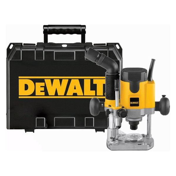 Dewalt DW621K Håndoverfres med oppbevaringskasse, 1100 W