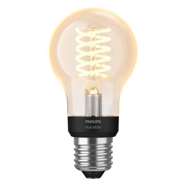 Philips Hue White LED-lampe 7 W, E27, filament