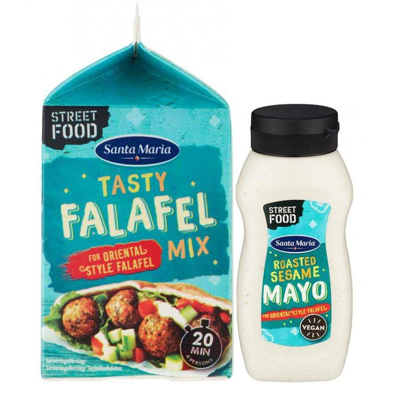 Falafelmix Paket - 75% rabatt