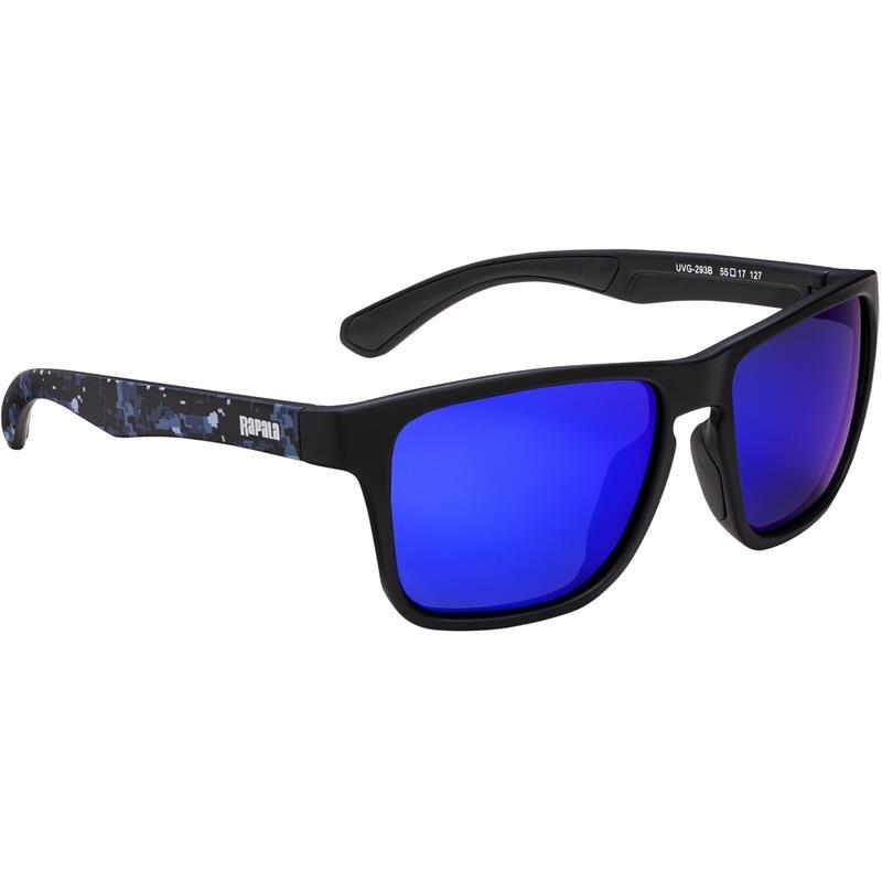 Rapala Urban 293B solbriller Blue Mirror - Black/Blue Camo