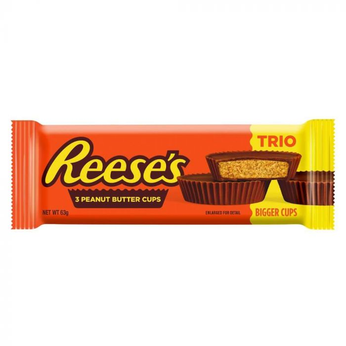 Reeses Peanut Butter Cups 63gram
